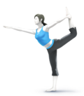 Wii fit trainer render by swagnite-d6b26o2
