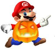 Pumpkin Mario