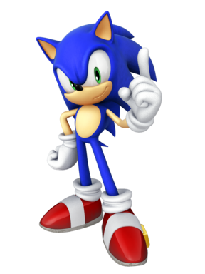 Sonic the Hedgehog 4 Episode 1 - Main Pose