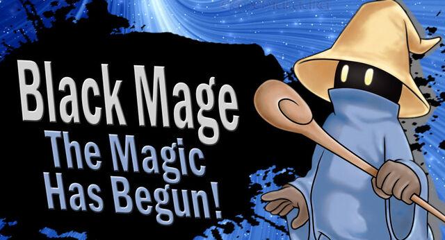 Fichier:Black mage for ssb4 by elemental aura-d6d73y2.jpg