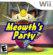 Meowth's Party Cover