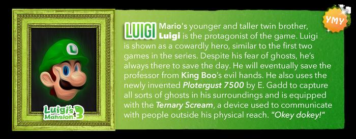 LM3 Character Info - Luigi