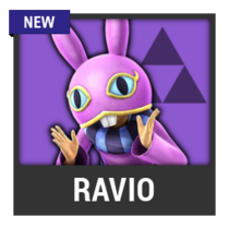 ACL -- Super Smash Bros. Switch character box - Ravio
