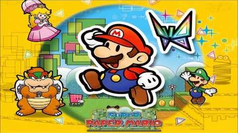 Butterfly Collecting (Super Paper Mario)