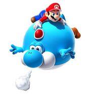 Balloon Yoshi
