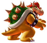 Bowser the Orange Dragon