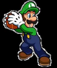 Luigi Mario Basketball Mushroom Tourney