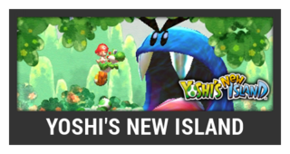 ACL -- Super Smash Bros. Switch stage box - Yoshi's New Island
