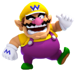 Sochi 2014 olympic wario 3d render by ratchetmario-d8j2g4e