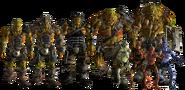 Fallout 5 Super Mutants & Ghoul