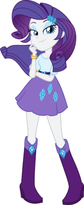 Eqg friendship games rarity by xebck-d98hnwc