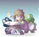 Sable' Prince & Frog Prince & Snake Prince SSBTT