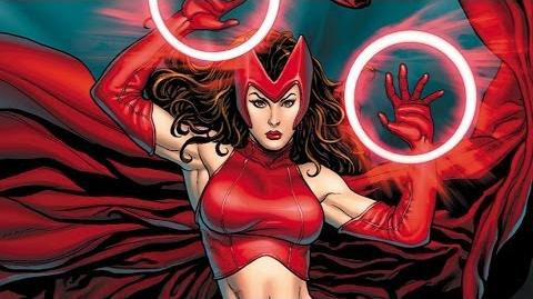 Superhero Origins Scarlet Witch