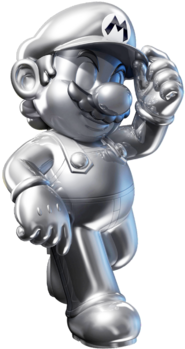 White Gold Mario