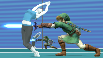 SSB5 Wii Fit Stadium