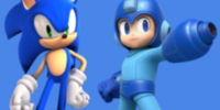 Sonic and Megaman