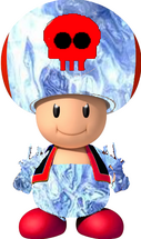 Ice Evil Toad
