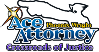Ace Attorney Crossroads of Justice Logo