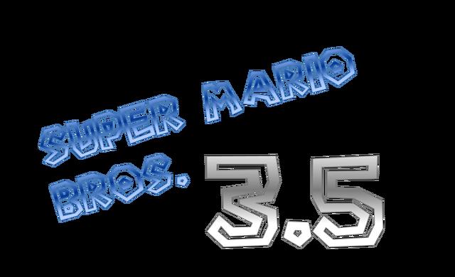File:SMB3.5 Logo.png