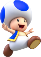 Toad Artwork - Super Mario 3D World