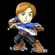 Mii Swordfighter-