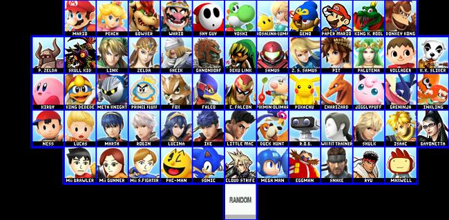 Oblivion starters Roster