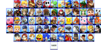 Super Smash Bros. Oblivion/Characters