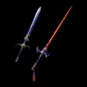 Lustroussword darksword weapon