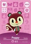 Ac amiibo card poppy