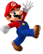 Mario The Red Fire