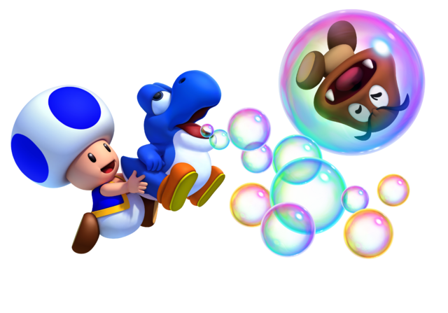 File:640px-Toad and Blue Baby Yoshi.png