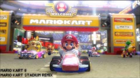 REMIX Mario Kart Stadium Techno Mix - Mario Kart 8