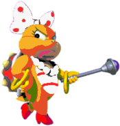 Wendy O. Koopa (SMW sprite colors)- New Super Mario Bros. Wii