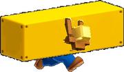 Triple Coin Block Mario