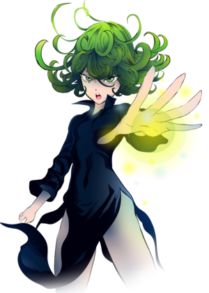 One punch man tatsumaki
