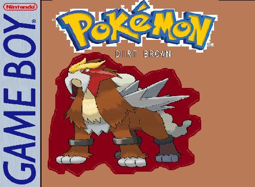 Pokemon Dirt Brown