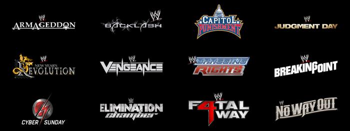 WWE PPV List 2 (Defunct)