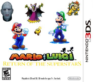 Mario and Luigi 5 Return of the Superstars