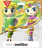 Amiibo - Zelda - Link Wind Waker - Box