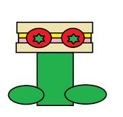 Sandwich Flower