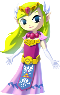 Toon Zelda TLoZ The Wind Waker HD