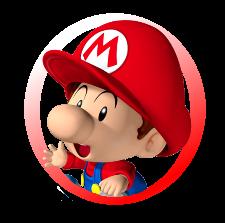 Baby Mario Logo