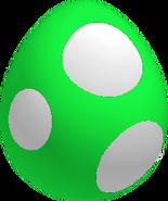 GreenBabyYoshiEggSML3D