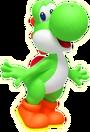 Yoshi Artwork - Super Mario 3D Universe Lost in Time