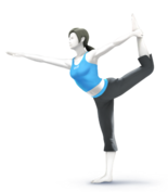 Wii Fit Trainer of Awesomeness