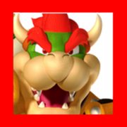 Bowser - New Super Mario Bros 2 arena