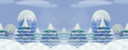 Snow Background NSMBW