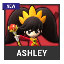 ACL -- Super Smash Bros. Switch character box - Ashley