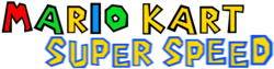 Mario Kart Super Speed Logo 2