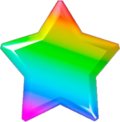 Rainbowy star